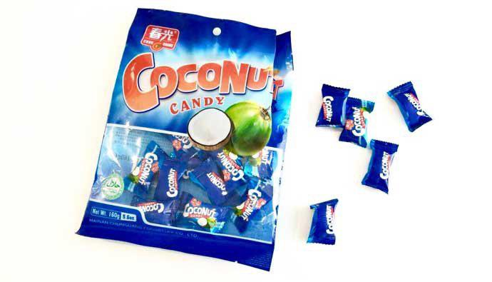 Coconut Candy Individually Wrapped