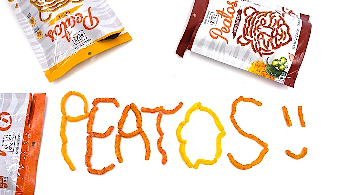 """Peatos"" Spelled With Chips"