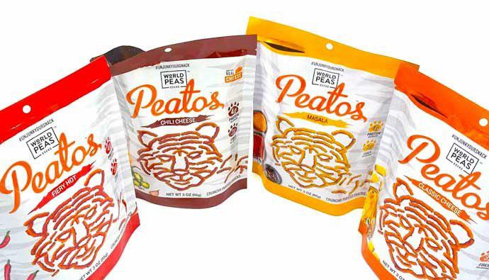 Peatos Snack Bags
