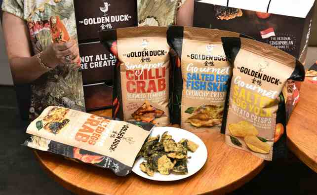 golden duck snackbox medley