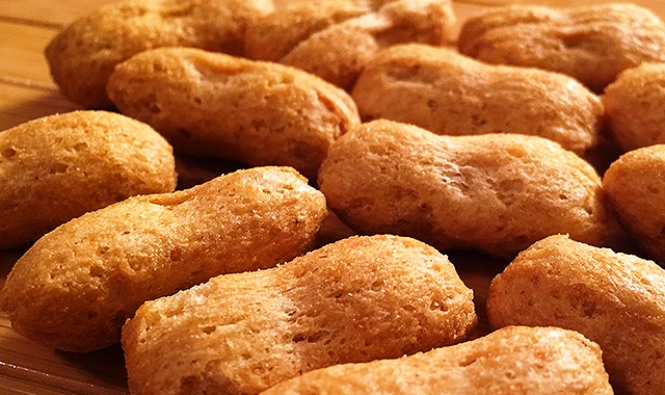 childhood snacks P.B. Crisps