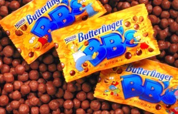 childhood snacks Butterfinger BB