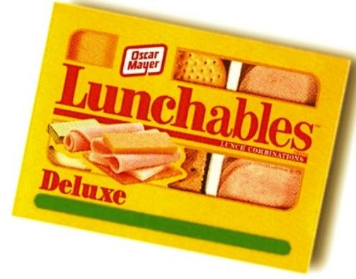 childhood snacks lunchables