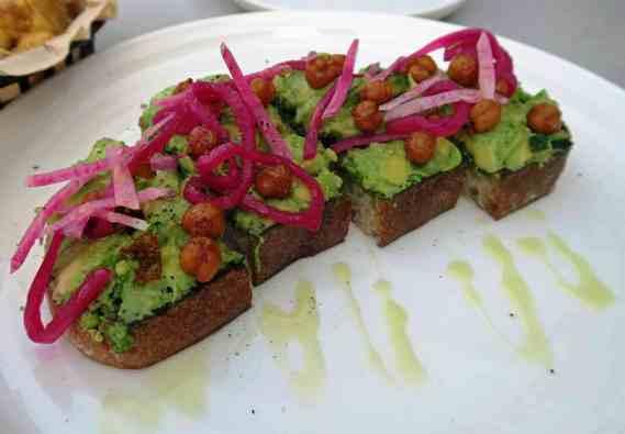 quarantine snacks avocado toast