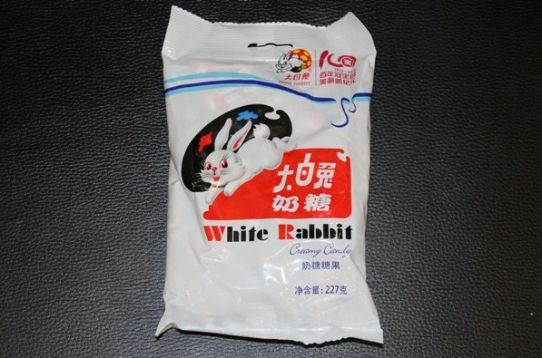 iconic asian snacks white rabbit