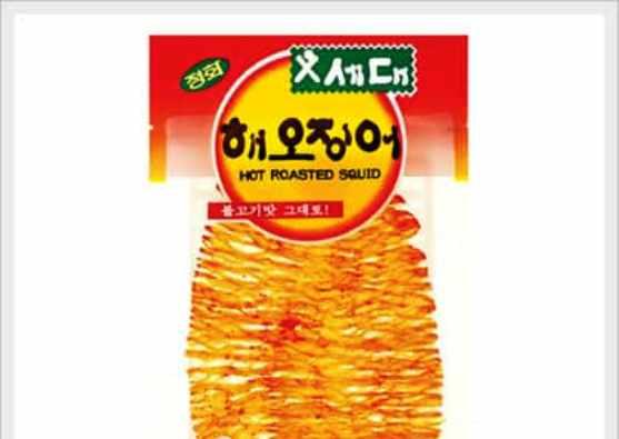 best korean snacks dired squid