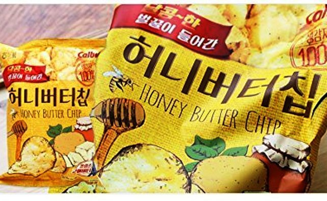 best korean snacks honey butter chips