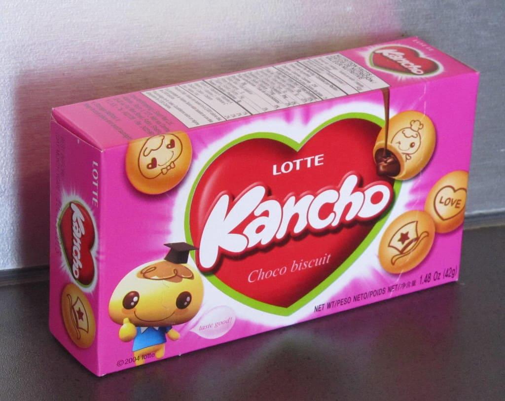 best korean snacks kancho