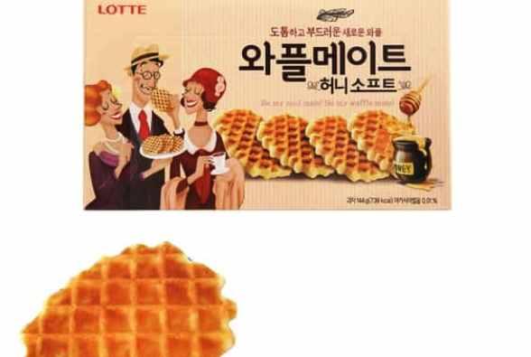 best korean snacks waffle mate